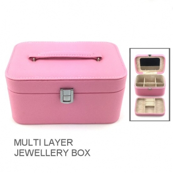 JEWELLERY BOX PINK MED