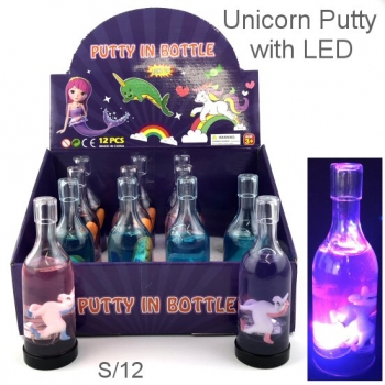 PUTTY IN BOTTLE DISPLAY 12