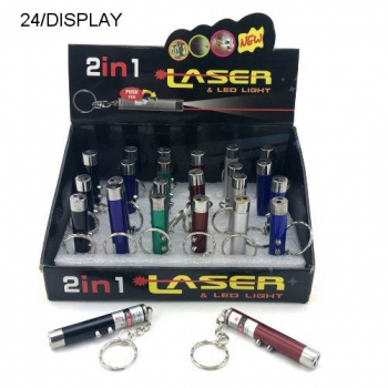 2 IN 1 LAZER AND LED LIGHT