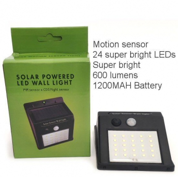 SOLAR SENSOR LED WALL LIGHT
