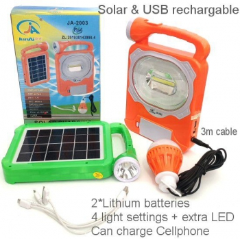 MULTIPURPOSE SOLAR LIGHTS