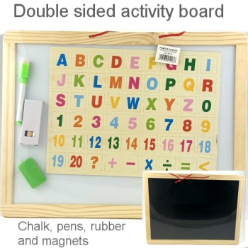WOODEN ACTIVITY BOARD