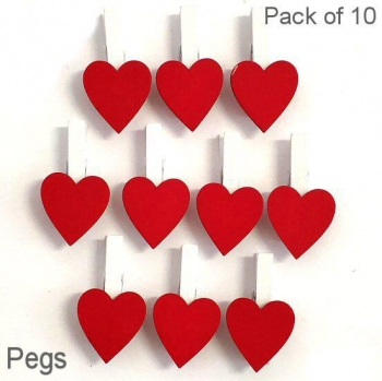 RED HEART PEGS