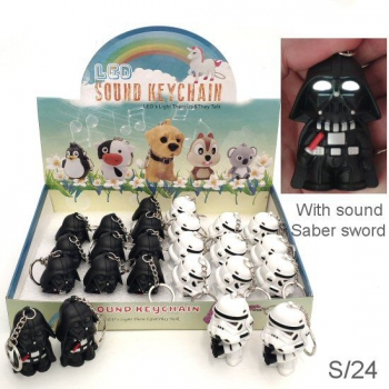 STAR WARS KEYRING DISPLAY 24