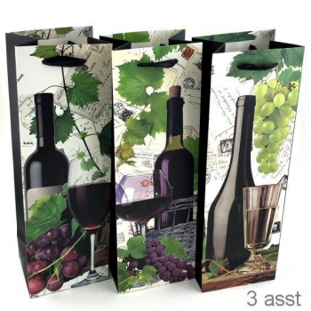 WINE GIFT BAG 4 ASSTD
