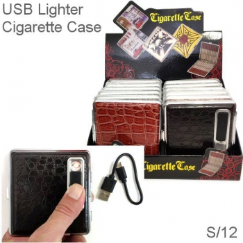 USB LIGHTER CASE DISPLAY 12