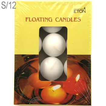 FLOATING CANDLES BOX 12