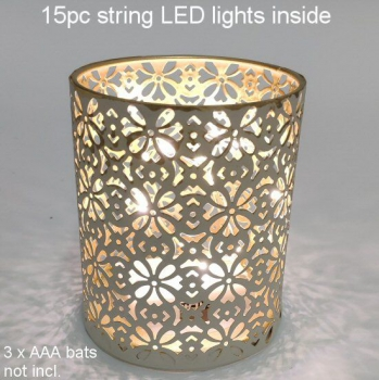 CANDLE HOLDER WITH LED LIGHT