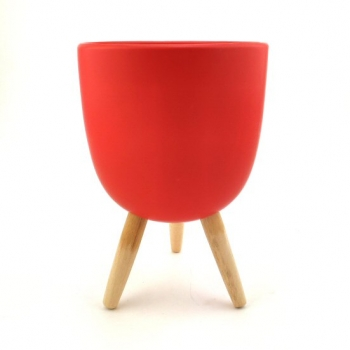 POT COVER RED