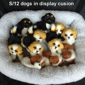 FURRY DOGS SET 12