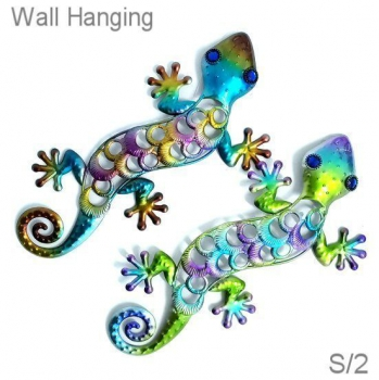 GECKO WALL HANGING DECOR