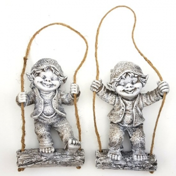 GNOME SWINGING DECOR 2 ASSTD