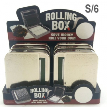 ROLLING BOX DISPLAY OF 6