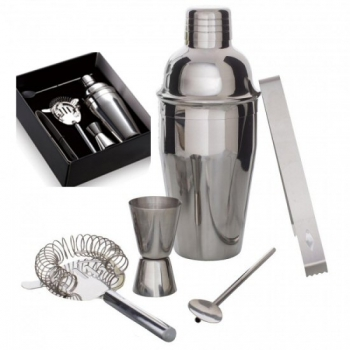 COCKTAIL SHAKER SET 5PC