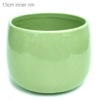 POT COVER LIME GREEN SML