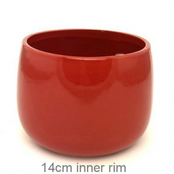 POT COVER RED MED