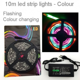 COLOR LIGHTS STRING 10m