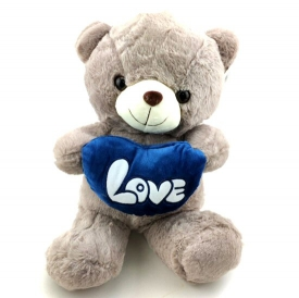 LOVE BEAR  GREY