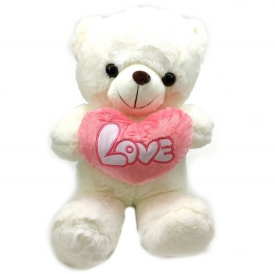 LOVE BEAR  WHITE