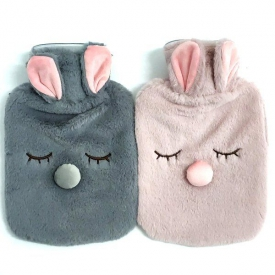HOT WATER BOTTLE - BUNNY FACE