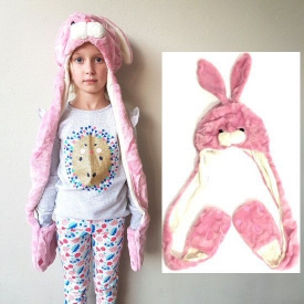 BUNNY HAT/GLOVES