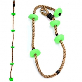 BUTTON CLIMBING ROPE