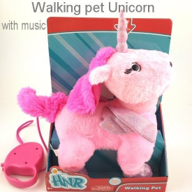 WALKING UNICORN PINK