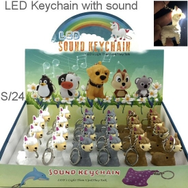 LLAMA KEYRINGS DISPLAY 24