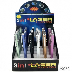 LAZER PENS DISPLAY 24