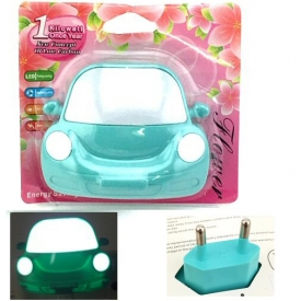 NIGHT LIGHT CAR BLUE