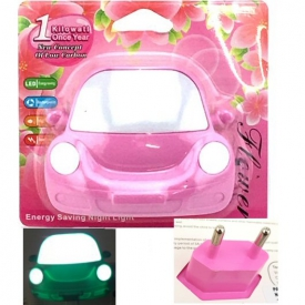 NIGHT LIGHT CAR PINK