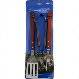 BRAAI UTENSILS 3PCE