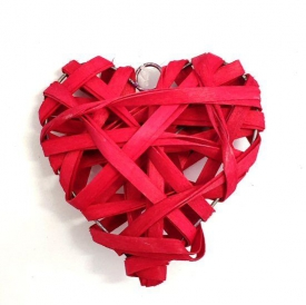 RED WILLOW HEARTS 10cm