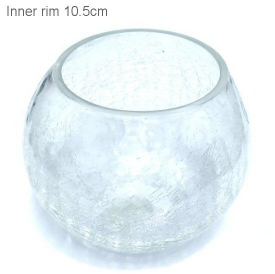GLASS MED CHLD/POT COVER - CLEAR