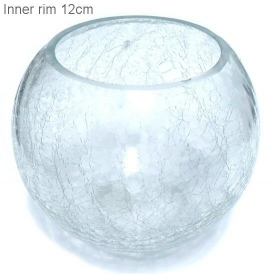 GLASS CHLD/POT COVER - CLEAR