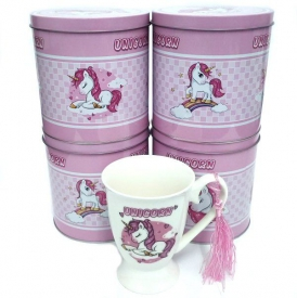 UNICORN MUG IN TIN