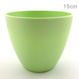 PLASTIC POT SMALL GREEN