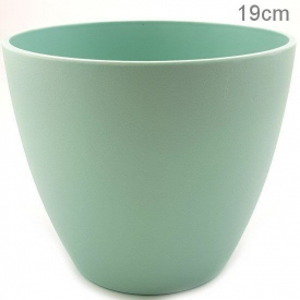 PLASTIC POT LARGE MINT
