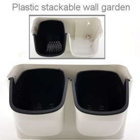 WALL PLANTER DOUBLE