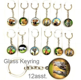 AFRICAN ANIMAL KEYRINGS