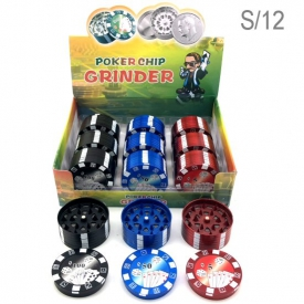 GRINDER POKER DISPLAY 12