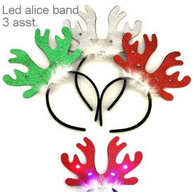 LED XMAS ALICE BAND