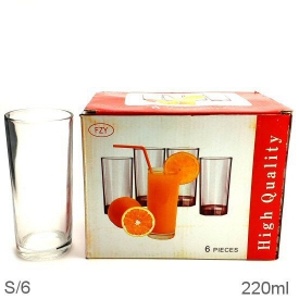 HIGHBALL GLASS 6PCE
