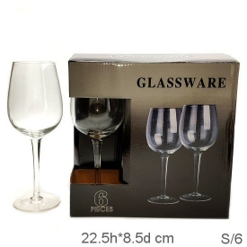 WINE GLASS 6PCS