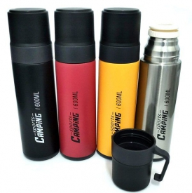 THERMAL CAMPING FLASK 600ml