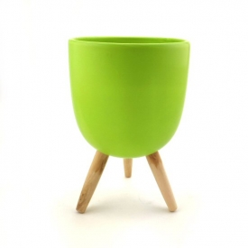 POT COVER LIME GREEN