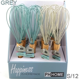 SILICONE WHISK GREY