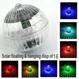 SOLAR FLOATING/HANGING BALL