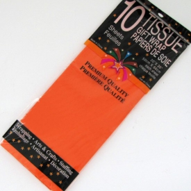 TISSUE WRAP ORANGE