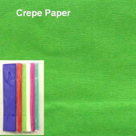 CREPE PAPER LIGHT GREEN